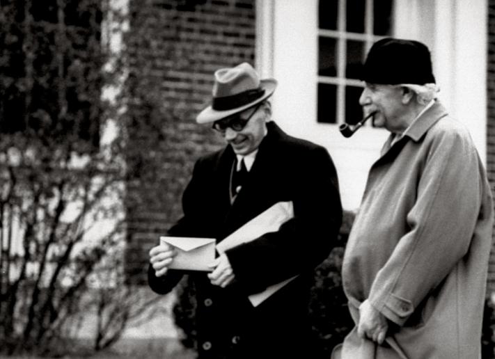 Kurt Gödel Einstein