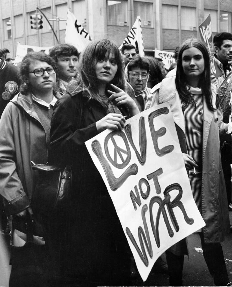 Love Not War Vietnam