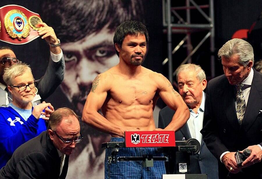 Manny Pacquiao In 2015