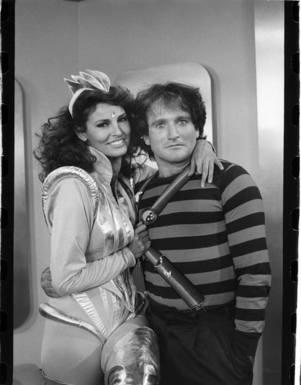 Raquel Welch With Robin Williams