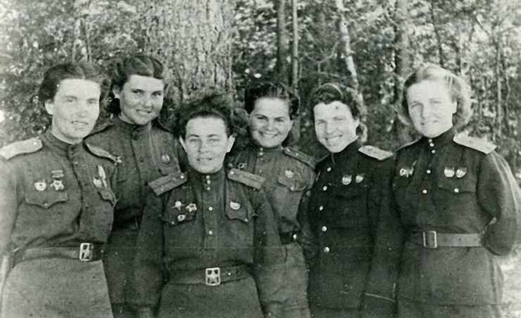 Night Witches Group Portrait