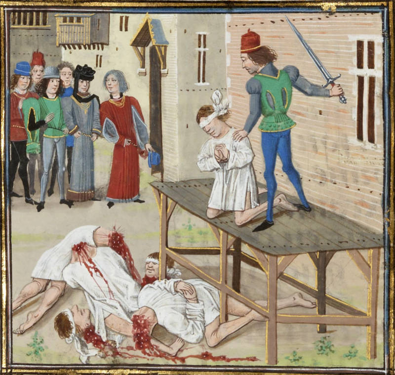 Olivier De Clisson Execution