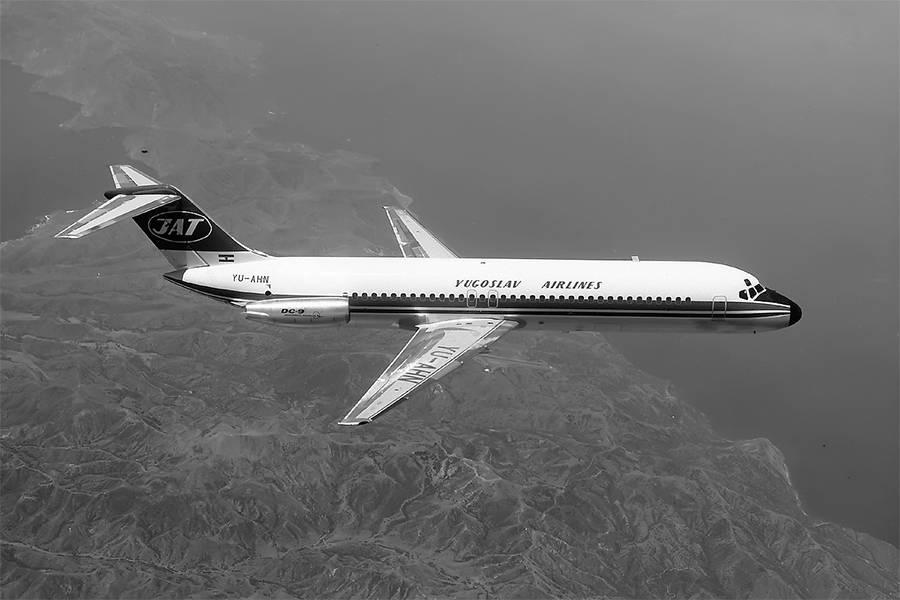 Plane Before Crash