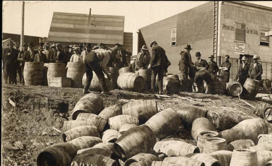 Prohibition Raid In Ontario