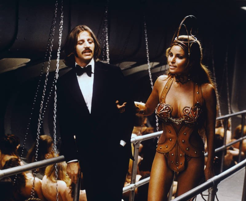 Raquel And Ringo Starr