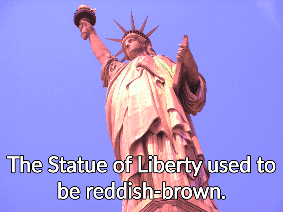 Statue Of Liberty Original Color