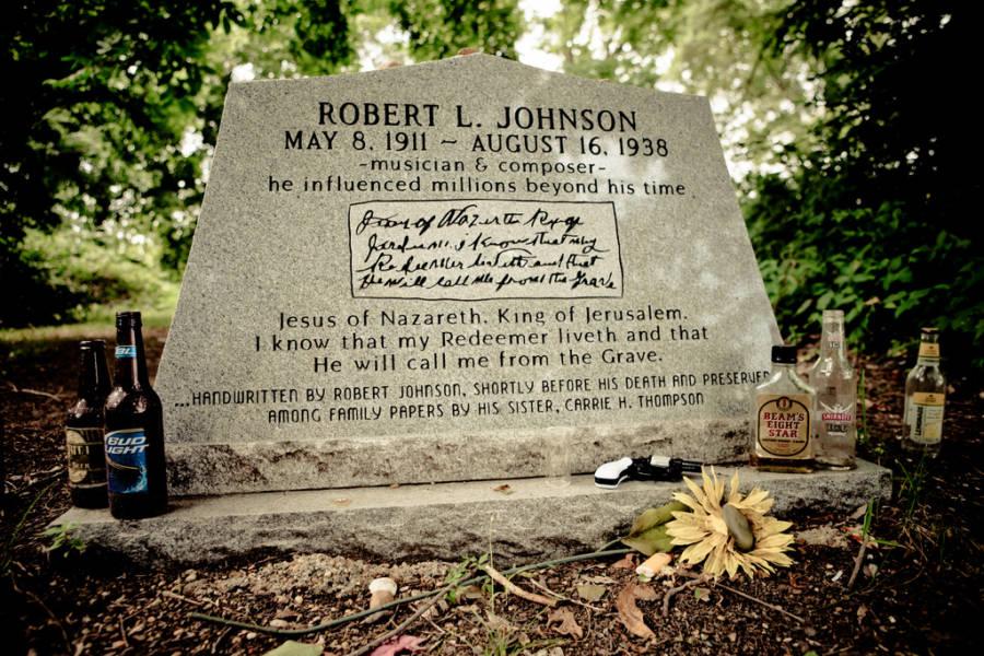 Robert Johnson Grave Marker