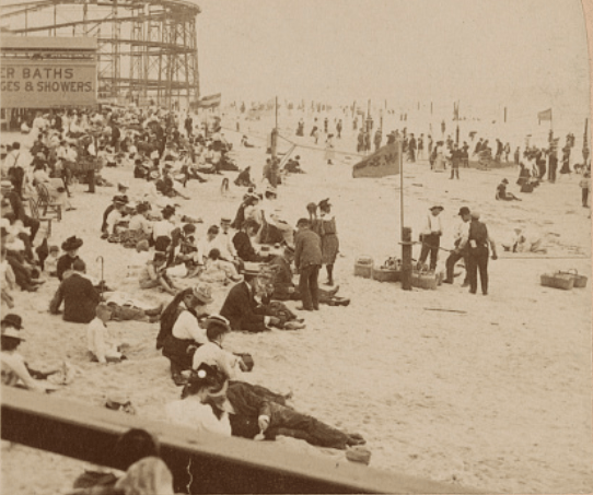 Rockaway Beach In 1903