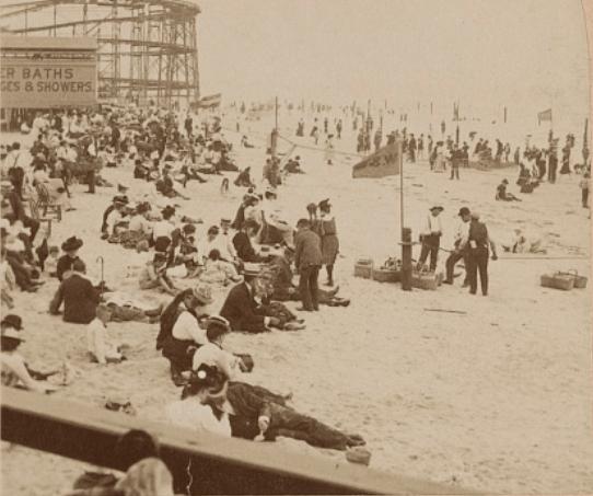 Rockaway Beach In 1903