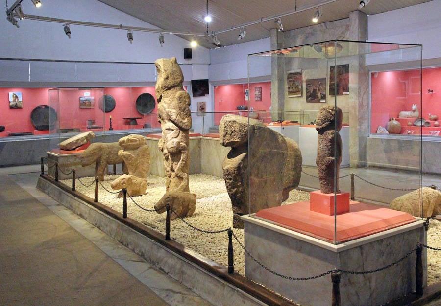 Sculpture In Museum