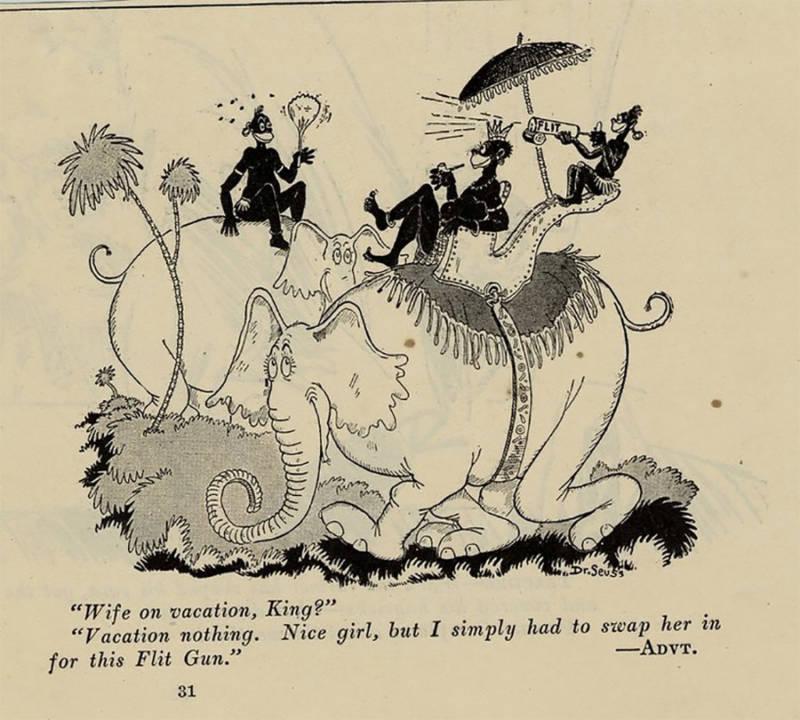 Dr. Seuss Racist Cartoons