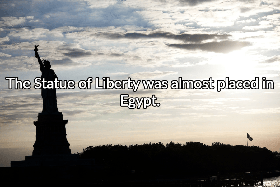 Statue Of Liberty Facts Egypt