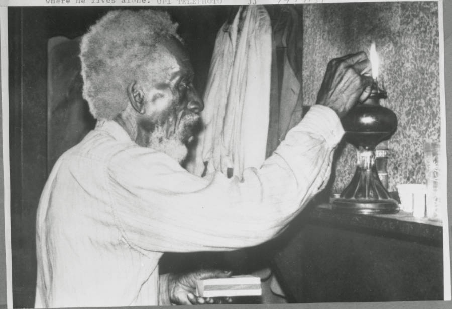 Sylvester Magee In Home