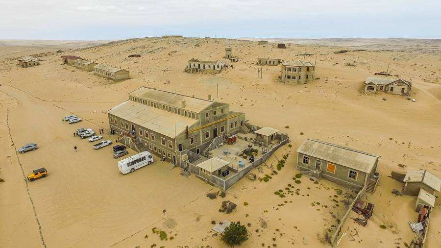 Aerial Photo Of Kolmanskop