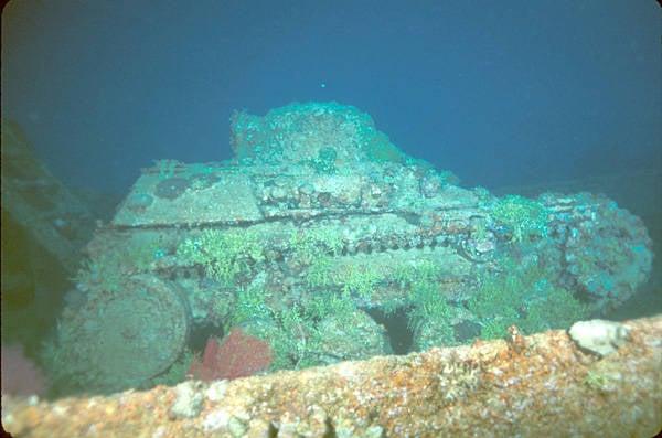 Truk Lagoon Tank