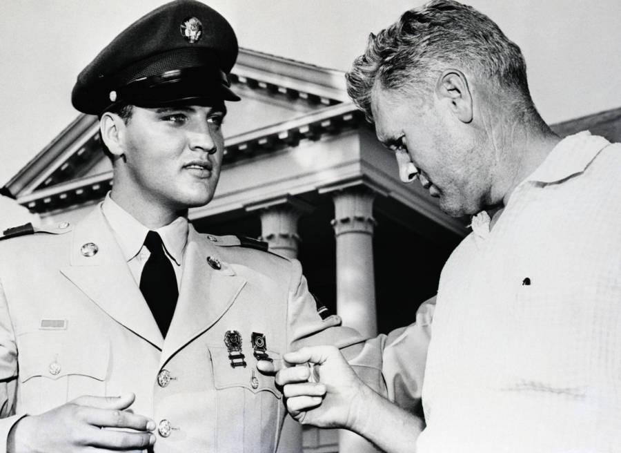 Vernon Presley Elvis Medals