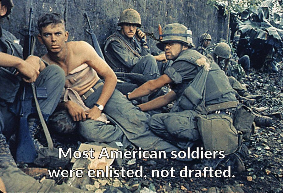 Vietnam War Facts Volunteers
