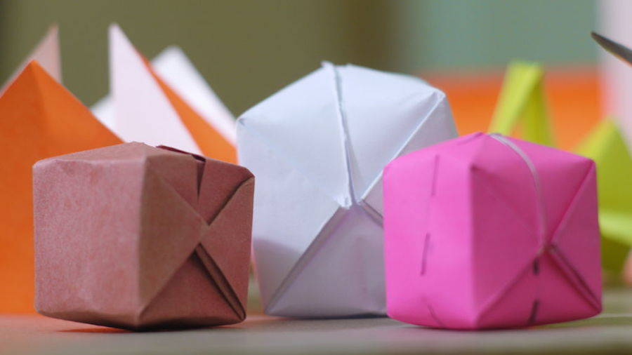 Waterbomb Origami
