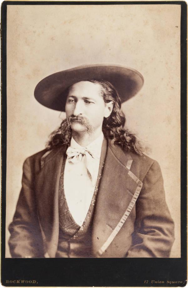 Wild Bill Hickok Cabinet Card
