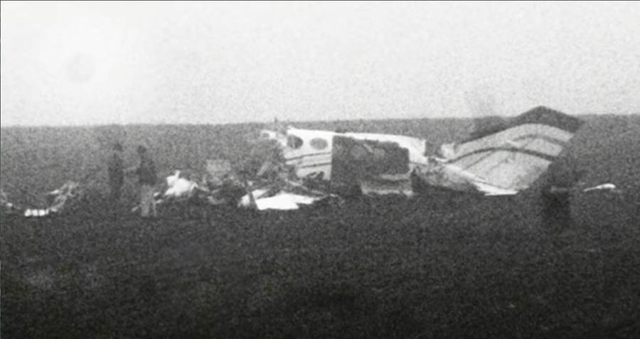 Wreckage From JAT Flight 367 Plane Crash