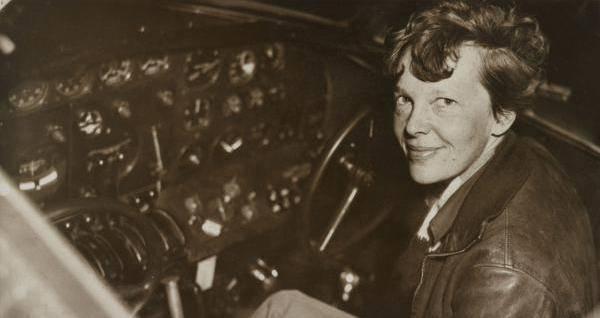 Amelia Earhart Plane Cockpit