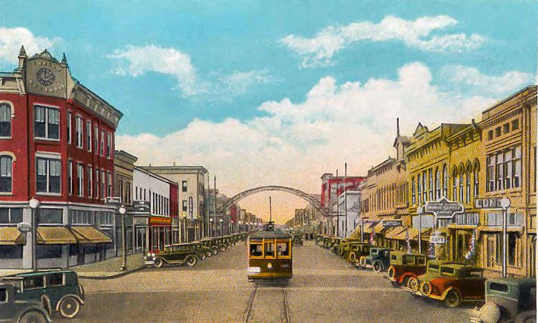 Commercial Avenue In Cairo, Illinois