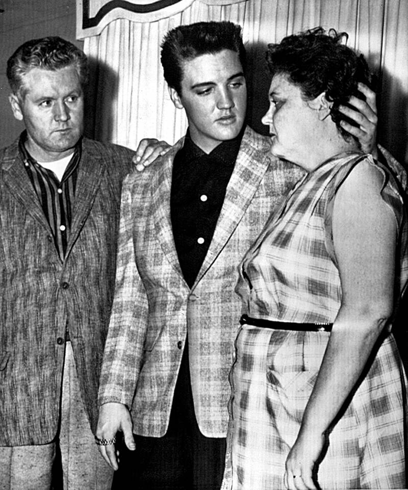 Elvis Parents