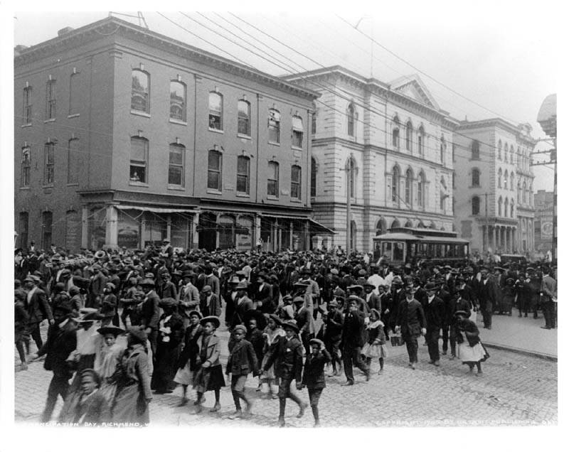 Emancipation Day In Virginia In 1905