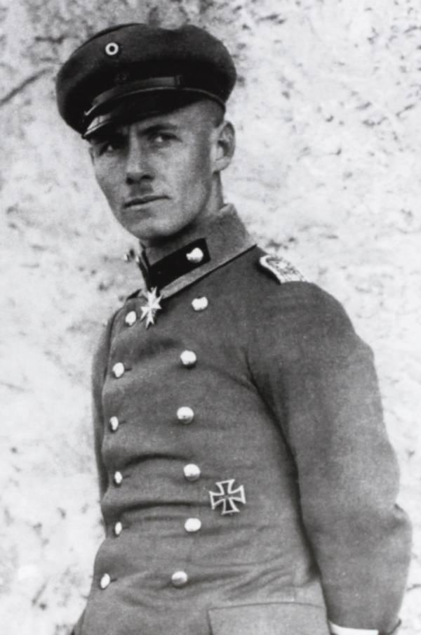 Erwin Rommel WWI 1917
