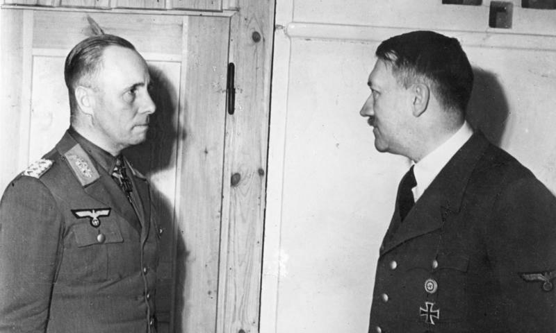 Erwin Rommel With Hitler