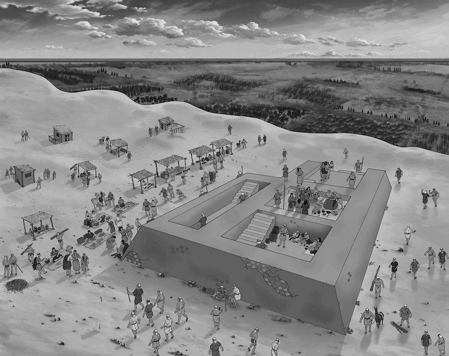 Feasting Site In Ancient Peru