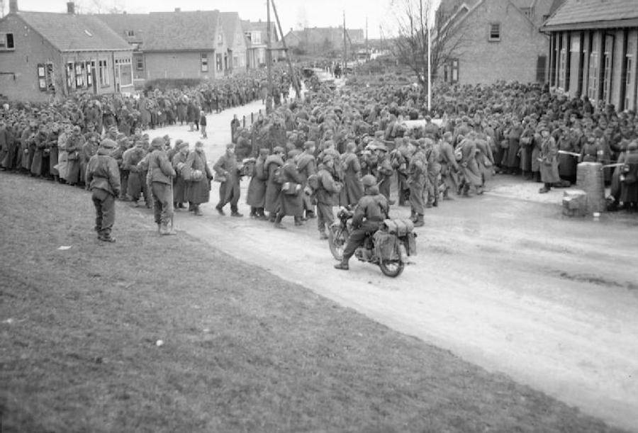 German Prisoners Scheldt