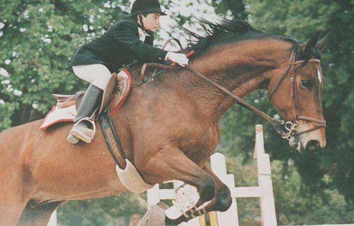 Giuseppe Di Matteo On Horseback