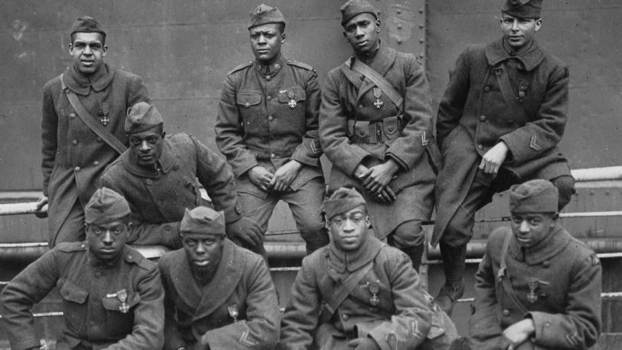 Harlem Hellfighters Group Photo