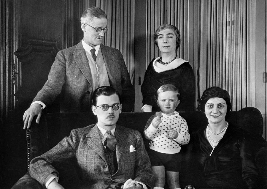 James Joyce And Nora Barnacle Family