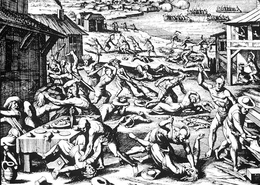 Jamestown Massacre