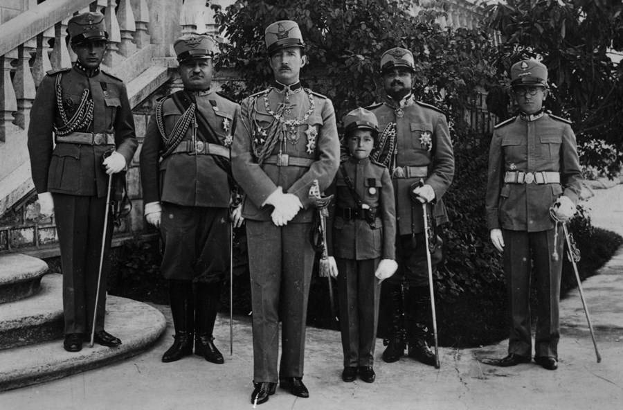 King Zog I Of Albania