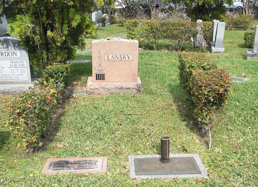 Grave Of The Mob's Accountant