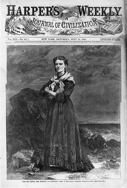 Ida Lewis In Harper's Weekly