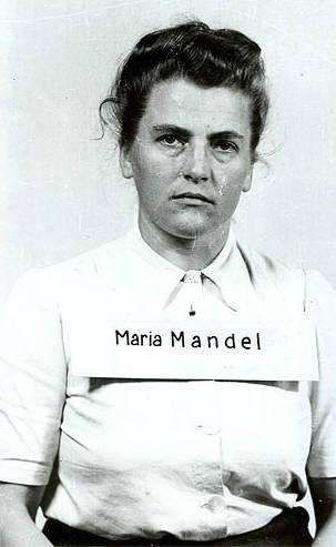 Maria Mandl Arrest