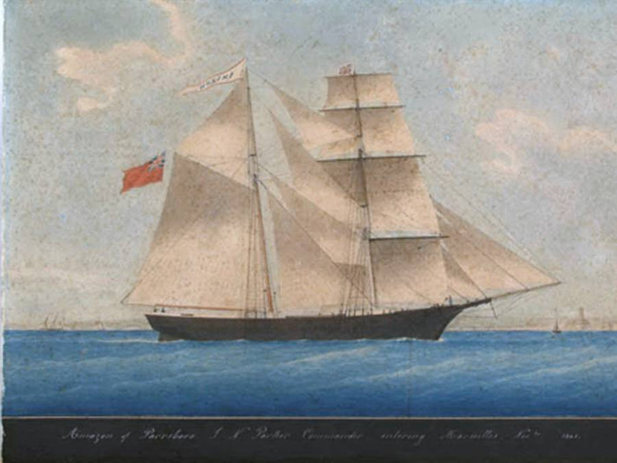 Mary Celeste Painting