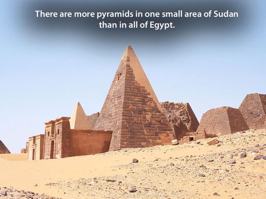 Meroe Sudan Pyramids