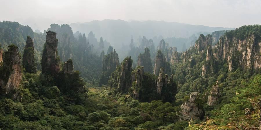 Tianzi Landscape