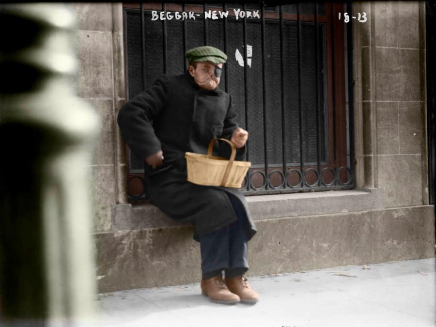 New York Beggar
