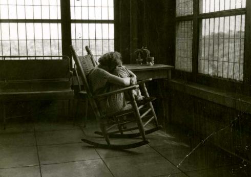 Patient At Saint Elizabeth's Asylum