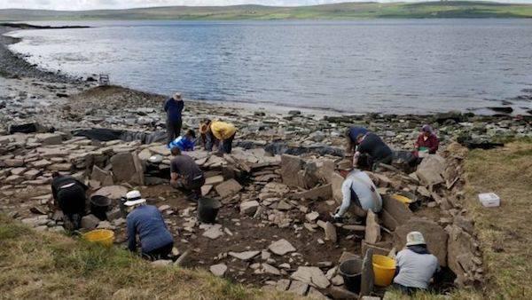 Pict Dig Site