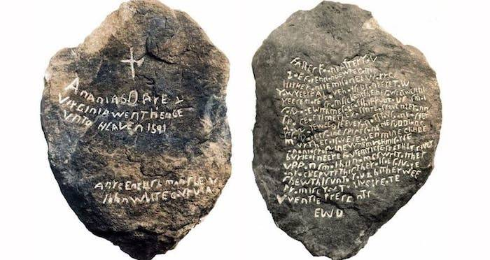 430-Year-Old Mystery Of The Lost Colony Of Roanoke May Finally Be Solved Thanks To This Stone