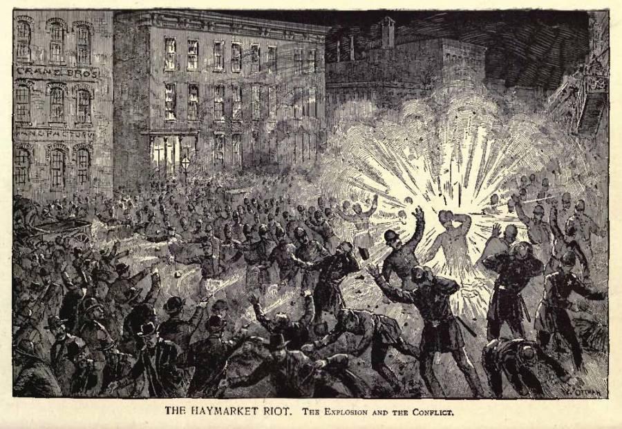 The Haymarket Riot Explosion