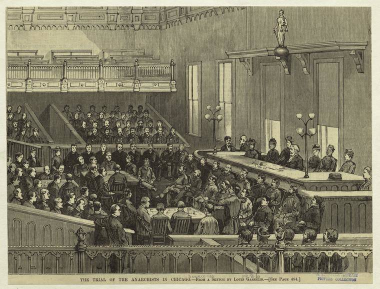 Trial Of Anarchists
