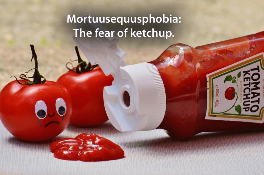 Weird Phobias Ketchup